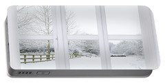 Winter Window Portable Battery Charger
