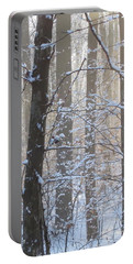 Winter Woodland Portable Battery Charger