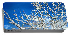 Winter's Artistry Portable Battery Charger by Barbara Jewell