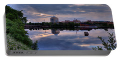 Wisconsin River Reflection Portable Battery Charger