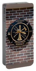 Portable Battery Charger featuring the photograph Wisconsin State Firefighters Memorial Park 5 by Susan  McMenamin