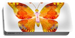 Wisdom And Flight Abstract Butterfly Art By Omaste Witkowski Portable Battery Charger