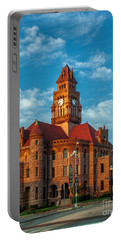 Wise County Courthouse Portable Battery Charger