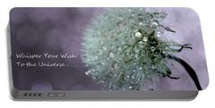 Wish To The Universe Portable Battery Charger
