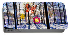 Portable Battery Charger featuring the photograph Wishing For Spring 1 by Mark Madere
