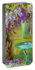 Wisteria At Hotel Baudy Portable Battery Charger