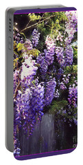 Wisteria Dreaming Portable Battery Charger