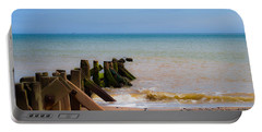 Withernsea Groynes Portable Battery Charger