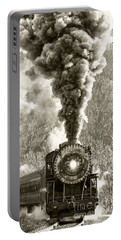 Wmsr Steam Engine 734 Portable Battery Charger by Jeannette Hunt