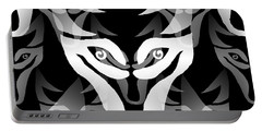 Wolf Mask Portable Battery Charger