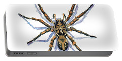 Wolf Spider Portable Battery Charger by Katherine Miller
