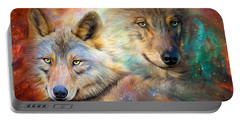 Wolf - Spirit Of The Universe Portable Battery Charger