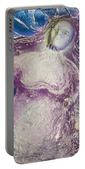 Woman In Purple Portable Battery Charger