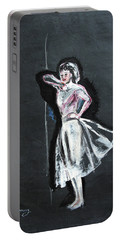 Woman In White Portable Battery Charger