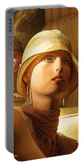 Woman With Hat - Chuck Staley Portable Battery Charger