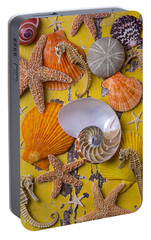 Wonderful Sea Life Portable Battery Charger by Garry Gay