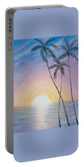 Wonderful Sunrise In Paradise Portable Battery Charger