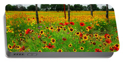 Wonderful Wildflowers Portable Battery Charger
