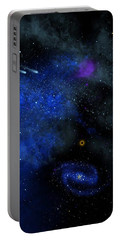 Wonders Of The Universe Mural Portable Battery Charger