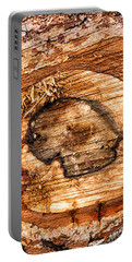 Wood Detail Portable Battery Charger