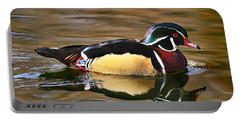 Wood Duck Beauty Portable Battery Charger