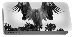 Wood Stork Spread Portable Battery Charger