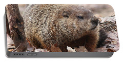 Woodchuck Watching Portable Battery Charger