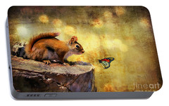 Portable Battery Charger featuring the photograph Woodland Wonder by Lois Bryan