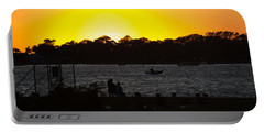Woods Hole Sunset Portable Battery Charger