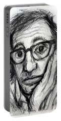 Woody Allen Portable Battery Charger