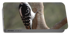 Portable Battery Charger featuring the photograph Woody by Mim White