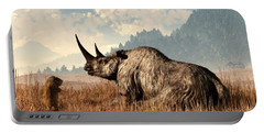 Woolly Rhino And A Marmot Portable Battery Charger