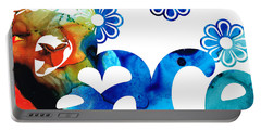 World Peace 3 - Loving Art Portable Battery Charger