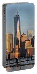 World Trade Center Freedom Tower Nyc Portable Battery Charger