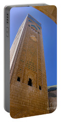 Portable Battery Charger featuring the photograph Worlds Tallest Minaret At 210m Hassan II Mosque Grand Mosque Sour Jdid Casablanca Morocco by Ralph A  Ledergerber-Photography