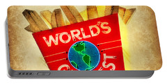 World's Greatest Fries Portable Battery Charger