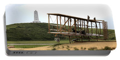 Wright Brothers Memorial At Kitty Hawk Portable Battery Charger