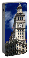 Wrigley Building Clock Tower Portable Battery Charger