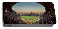 Wrigley Field Night Game Chicago Portable Battery Charger