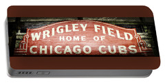 Wrigley Field Sign - No.2 Portable Battery Charger