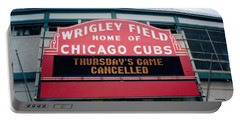 Wrigley Field Weeps For America Portable Battery Charger