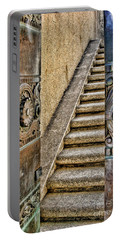 Wrigley's Bronze Doors By Diana Sainz Portable Battery Charger