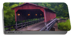 Wv Covered Bridge Portable Battery Charger