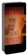 Ww1 Recruitment Posters Portable Battery Charger