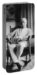 Wyatt Earp In A Rocking Chair Portable Battery Charger
