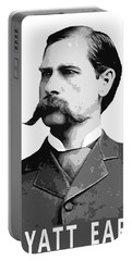 Wyatt Earp Legend Of The Old West Portable Battery Charger