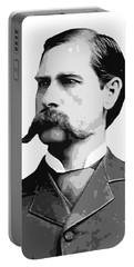 Wyatt Earp Old West Legend Portable Battery Charger