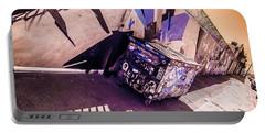 Wynwood Trash Portable Battery Charger