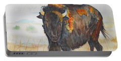 Wyoming - King Of The Prairie Portable Battery Charger