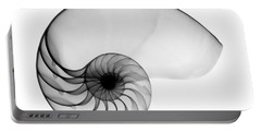 X-ray Of Nautilus Portable Battery Charger by Bert Myers